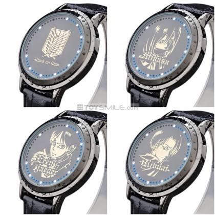 นาฬิกา Attack on Titan Touch screen LED watch