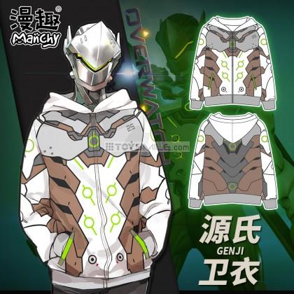 เสื้อฮู้ดดี้ Genji cosplay - Overwatch