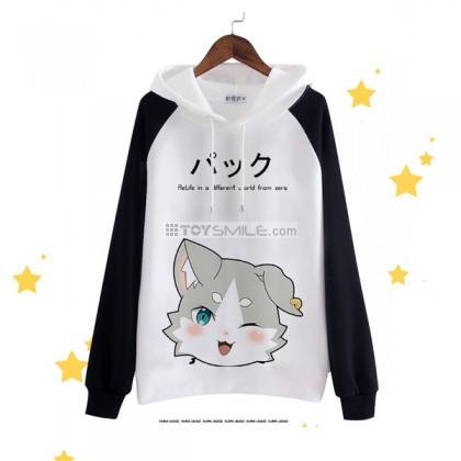 เสื้อกันหนาวมีฮู้ด Pack Re:Zero
