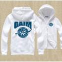 เสื้อกันหนาวมีฮู้ด Mask Rider Gaim (ขาว)