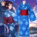 Cosplay ชุด Kimono Mitsuha