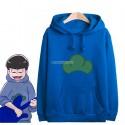 เสื้อฮู้ดดี้ Osomatsu-san (สีน้ำเงิน)
