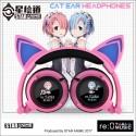 Ram Rem cat ear headphone