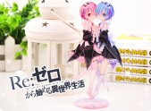 Rem Ram acrylic character stand