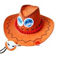 หมวก Ace Onepiece Orange