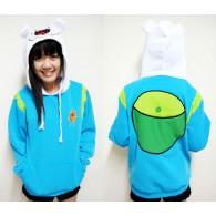 เสื้อกันหนาวมีฮู้ด Finn จาก Adventure Time