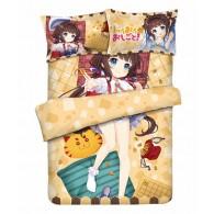 Set ชุดปูเตียง Ai Hinatsuru 4 ชิ้น (มี3ขนาด)