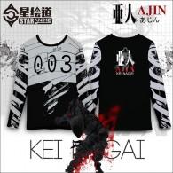 เสื้อยืดแขนยาว Ajin
