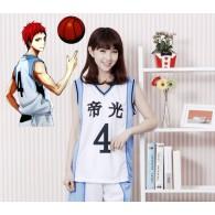 ชุดบาสเกตบอล Teiko อาคาชิ เซย์จูโร่ (No.4)