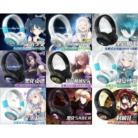 หูฟัง Bluetooth Headset ลาย Anime  (มี 9 แบบ)