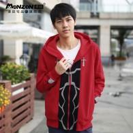 เสื้อกันหนาวมีฮู้ด Archer (สีแดง)