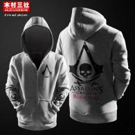 เสื้อกันหนาวมีฮู้ด Assassin's Creed (Black Flag)