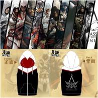 เสื้อมีฮู้ดแขนสั้น Assassins Creed