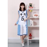 ชุดบาสเกตบอล Teiko มุราซากิบาระ อัตสึชิ (No.5)
