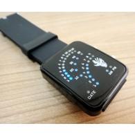นาฬิกาข้อมือดิจิตอลจอ LED เรืองแสง Bleach