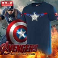 เสื้อยืดกัปตันอเมริกา The Avengers 2