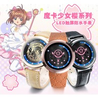 นาฬิกา Card Captor Sakura Touch screen LED watch