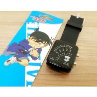 นาฬิกาข้อมือดิจิตอลจอ LED เรืองแสง Conan