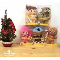 Set ตุ๊กตา เกมส์คุกกี้รันผจญภัยโลกแคนดี้ (30cm)
