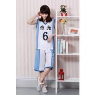 ชุดบาสเกตบอล Teiko อาโอมิเนะ ไดกิ (No.6)