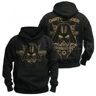 เสื้อกันหนาวมีฮู้ด Darth Vader (ทอง)