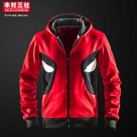 เสื้อกันหนาวฮู้ด Deadpool (แบบซิป)