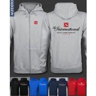 เสื้อฮู้ดดี้ DOTA 2 - The International Championships (แบบซิป)