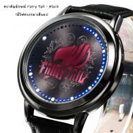 นาฬิกา ตราสัญลักษณ์ Fairy Tail Touch screen LED watch