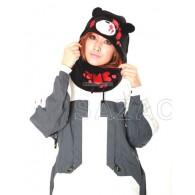 หมวก Gloomy bear (ดำ)