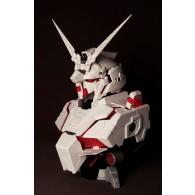 โมเดลหัว RX-0 Gundam Unicorn