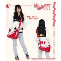 กระเป๋า มิโกะแห่งศาลเจ้าฮาคุเรย์ (แดง)