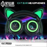 Hatsune Miku cat ear headphone