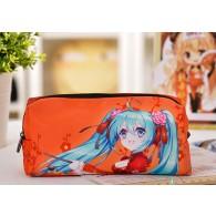 กระเป๋าดินสอ/ปากกา Miku (Red Dress)