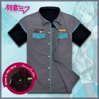 เสื้อเชิ้ต Hatsune Miku (ลายเรืองแสง)
