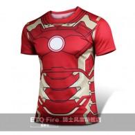 เสื้อ Iron man MK 43 แขนสั้น