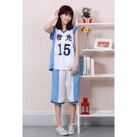 ชุดบาสเกตบอล Teiko คุโรโกะ เท็ตสึยะ (No.15)