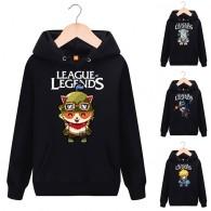 เสื้อกันหนาวมีฮู้ด League of Legends (มี16แบบ)