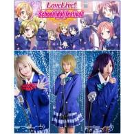 Cosplay ชุดนักเรียนแบบมีสูท Love Live!