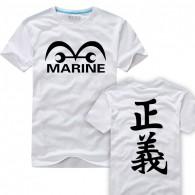 เสื้อยืด มารีน กองทัพเรือ รัฐบาลโลก วันพีช