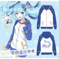 เสื้อกันหนาวมีฮู้ด Miku 2017