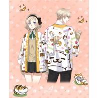 เสื้อคลุมยูกาตะ Neko Atsume