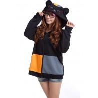 เสื้อกันหนาวมีฮู้ด Nyanko Sensei