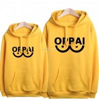 เสื้อกันหนาวมีฮู้ด OPPAI