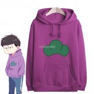 เสื้อฮู้ดดี้ Osomatsu-san (สีม่วง)