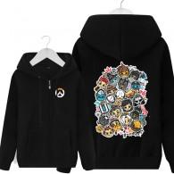เสื้อกันหนาวมีฮู้ด Overwatch (มี 5 สี)