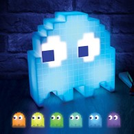 Pacman Ghost Pixel Party Lamp