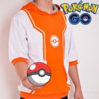 Pokemon Go Hoodie (สีส้ม)