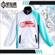 เสื้อแจ็คเก็ต Racing Miku