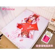 ชุดผ้าปูเตียง ปลอกหมอน Reimu Hakurei