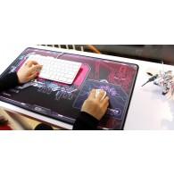 RX-0  Unicorn Gundam Desk Pad (Red Frame)